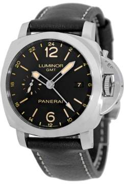 Panerai PAM531 Luminor Stainless Steel & Leather Automatic 44mm Mens Watch