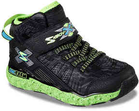 Skechers Boys Cosmic Foam Toddler & Youth High-Top Sneaker