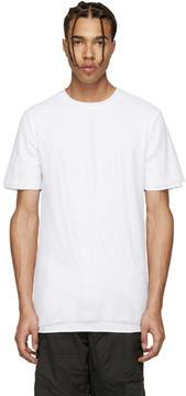 Alexandre Plokhov White Layered Mesh T-Shirt