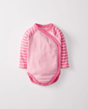 Hanna Andersson Baby Crossover One Piece In Organic Cotton