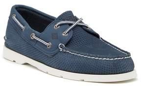 Sperry Leeward 2-Eye Perforated Leather Boat Shoe