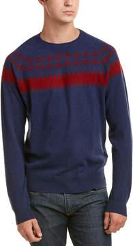 Qi Cashmere Fairisle Sweater
