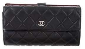 Chanel Lambskin Continental Wallet
