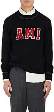 Ami Alexandre Mattiussi Men's AMI Varsity Merino Wool Sweater