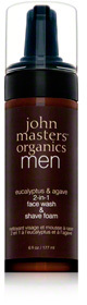John Masters Organics Eucalyptus and Agave 2 In 1 Face Wash and Shave Foam