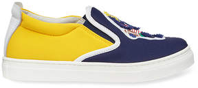 Fendi patch slip-on sneakers