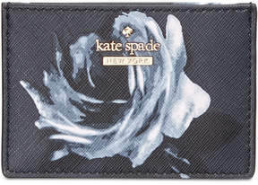 Kate Spade Cameron Street Night Rose Card Holder - RICH NAVY MULTI - STYLE