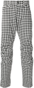 G Star G-Star slim houndstooth trousers