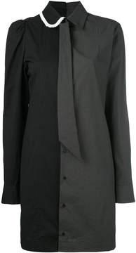 A.F.Vandevorst two-tone collared dress