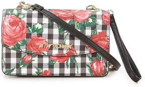 Betsey Johnson Gingham Style 2 In 1 Cross-Body Bag
