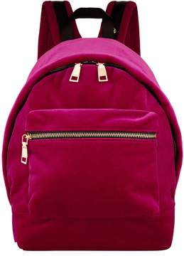 Sandro Velour Backpack