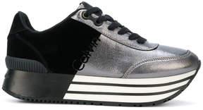Calvin Klein Jeans contrast platform sneakers