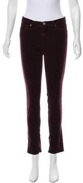 Adriano Goldschmied Mid-Rise Velvet Pants