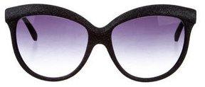 Italia Independent Glitter Oversize Sunglasses