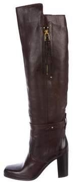 Barbara Bui Knee-High Leather Boots