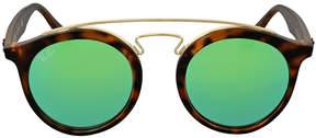 Ray-Ban Open Box Gatsby Green Mirror 49 mm Sunglasses