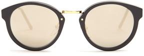 RetroSuperFuture Panamá mirrored sunglasses