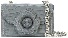 Oscar de la Renta Grey Alligator TRO Bag