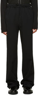Yang Li Black Drawstring Trousers