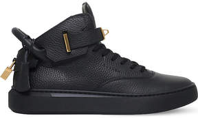 Buscemi 100mm grained-leather trainers