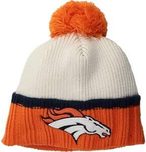 New Era Prime Team Pom Denver Broncos Knit Hats