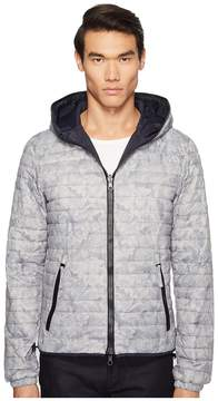 Duvetica Dragotre Hooded Reversible Light Down Jacket Men's Coat