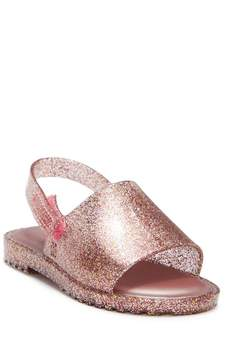 Mini Melissa Mia Fabula II Slingback Glitter Sandal (Toddler & Little Kid)