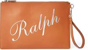 Ralph Lauren Calfskin Ralph Wristlet