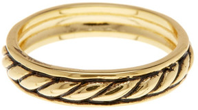 Ariella Collection Braided Band Ring