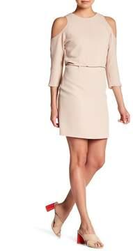 Tibi Savanna Cold Shoulder Dress