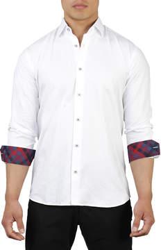 DAY Birger et Mikkelsen Maceoo Shaped-Fit Floral Jacquard Sport Shirt