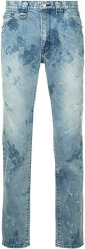 Roar distressed slim-fit jeans