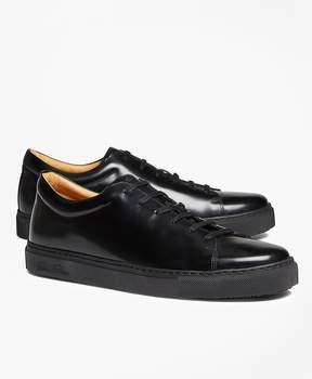 Brooks Brothers Leather Sneakers