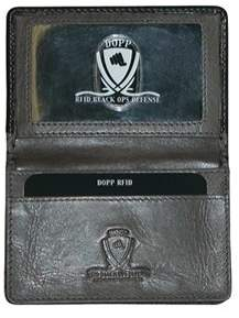Dopp Men's Rfid Alpha Collection Business Card Case.