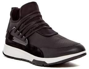 Calvin Klein Keller City Embossed Leather Mid Sneaker