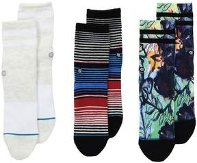 Stance Summer Box Set Men's Crew Cut Socks Shoes