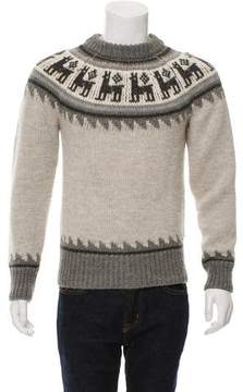 Michael Bastian Alpaca & Wool-Blend Sweater