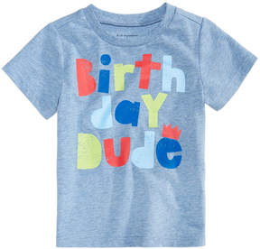 First Impressions Birthday-Print T-Shirt, Baby Boys (0-24 months), Created for Macy's