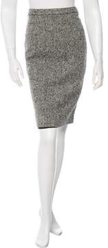 Andrew Gn Wool Pencil Skirt