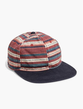 Lucky Brand WASHED FLAT BRIM HAT
