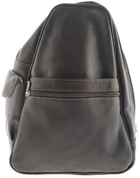 Women's Piel Leather Tri Shaped Sling Bag 2017