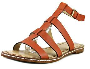Michael Kors Michael Fallon Flat Women US 6 Orange Slingback Sandal