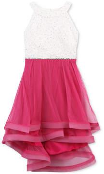 Speechless Lace Bodice Dress, Toddler Girls