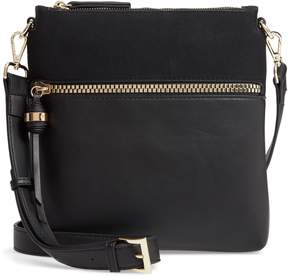 Sondra Roberts Faux Leather Crossbody Bag