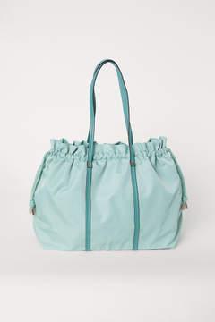 H&M Nylon Weekend Bag - Turquoise