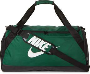 Nike Green & Black Brasilia Medium Duffel
