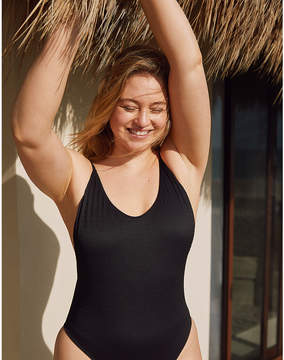 aerie Smocked One Piece Swimsuit