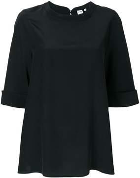 Aspesi turn up sleeve blouse