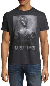 Star Wars Novelty T-Shirts Han Solo Hard Times Graphic Tee