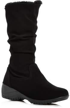 Khombu Women's Adventura Waterproof Cold-Weather Wedge Boots